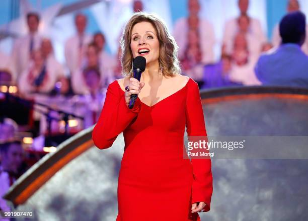 Worldrenowned fourtime Grammy Awardwinning soprano superstar Renée Fleming performs at the 2018 A Capitol Fourth at the US Capitol West Lawn on July...