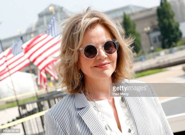 Worldrenowned fourtime Grammy Awardwinning soprano superstar Renee Fleming at the 2018 A Capitol Fourth rehearsals at US Capitol West Lawn on July 3...