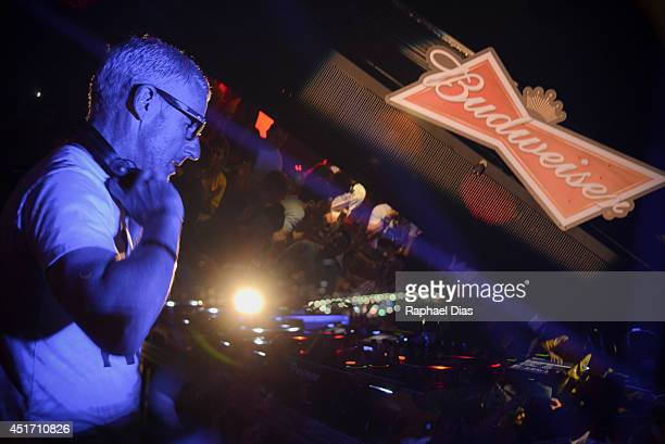 Worldrenowned group Above Beyond headlined an exclusive musical performance at the Budweiser Hotel in Rio de Janeiro Brazil on June 29 2014
