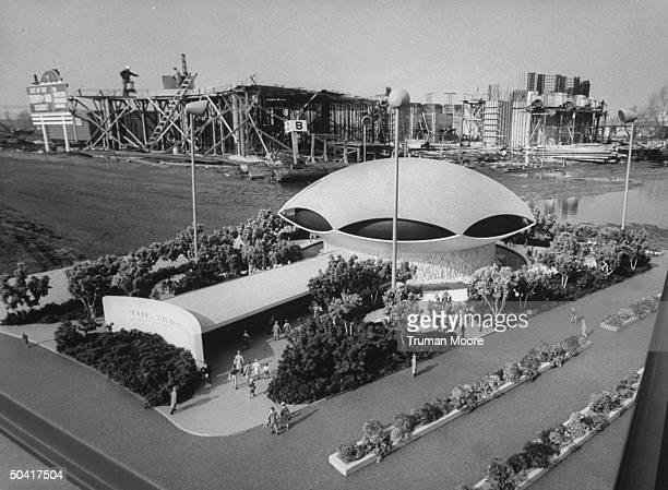 World's Fair under construction.