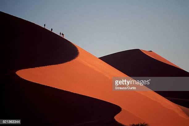 Worlds Highest Sand Dune in Namibia