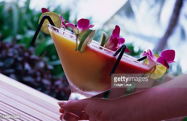 World's Largest Cocktail at Hayman Island Resort.