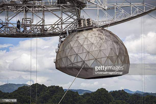 Worlds largest singledish radio telescope the Arecibo Observatory Arecibo Puerto Rico