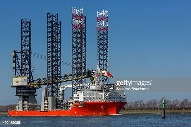 CONTENT] World's largest wind farm installation vessel sailing to Rotterdam for maintenance