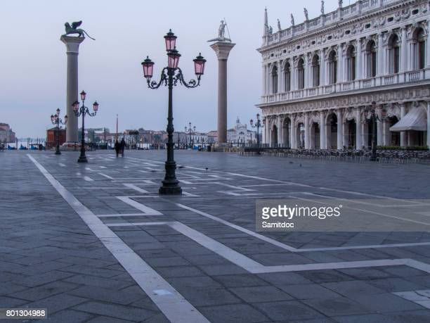 Worlds most beautiful square Piazza San Marco.Venice in Italy