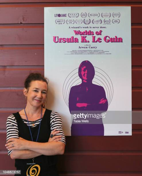 'Worlds of Ursula K Le Guin' director Arwen Curry attends the 2018 Santa Cruz Film Festival on October 6 2018 in Santa Cruz California