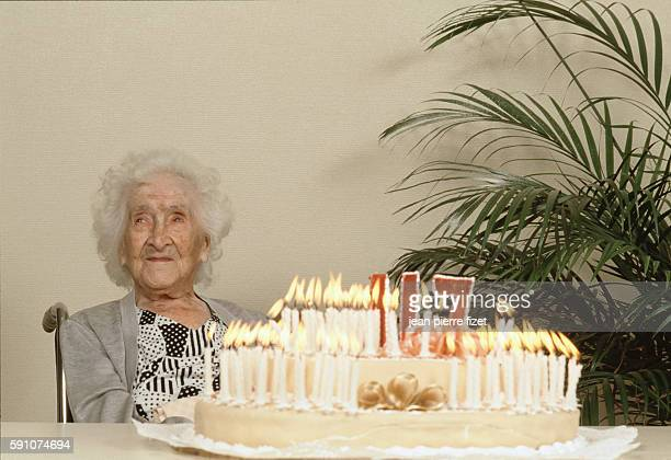World's oldest person Jeanne Calment celebrates her 117th birthday