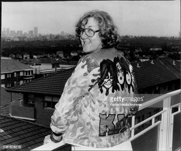 World's Oldest Teenager' Jane Scott a Journalist who covers the rock and pop scene from Cleveland Ohio December 25 1978