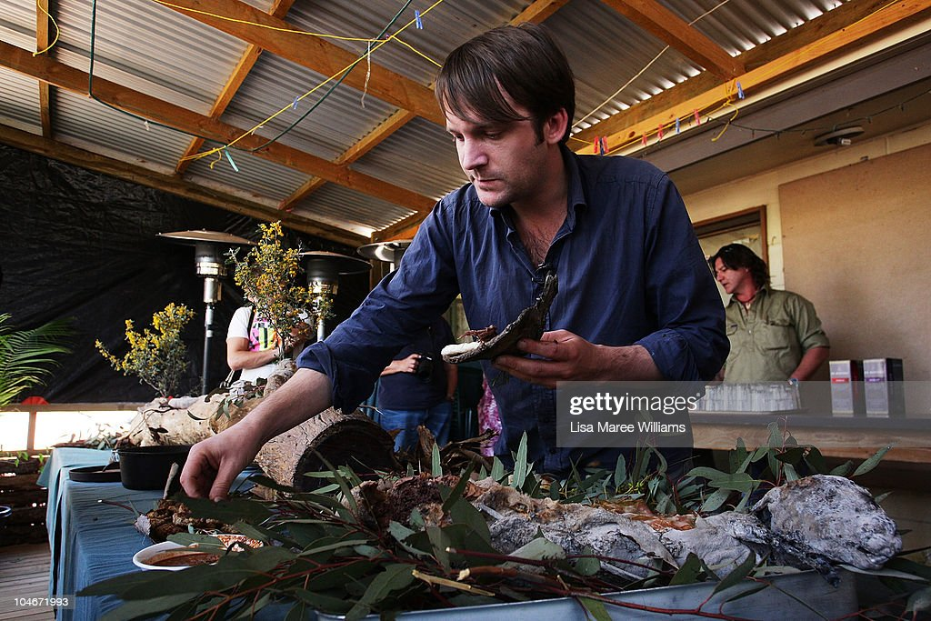 World's Number One Chef Rene Redzepi Forages In South Australia : News Photo
