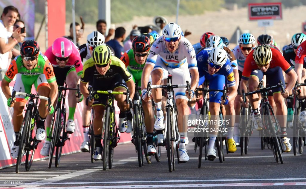 CYCLING-UAE-ABU-DHABI-TOUR : News Photo