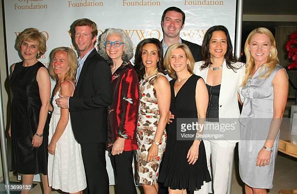 Worldwide Orphans Foundation boardmembers Meg Bode d'Ariano Yvette Teofan Andrew Drexel Allen founder Dr Jane Aronson Ramyne Spire Nick Brophy Mary...