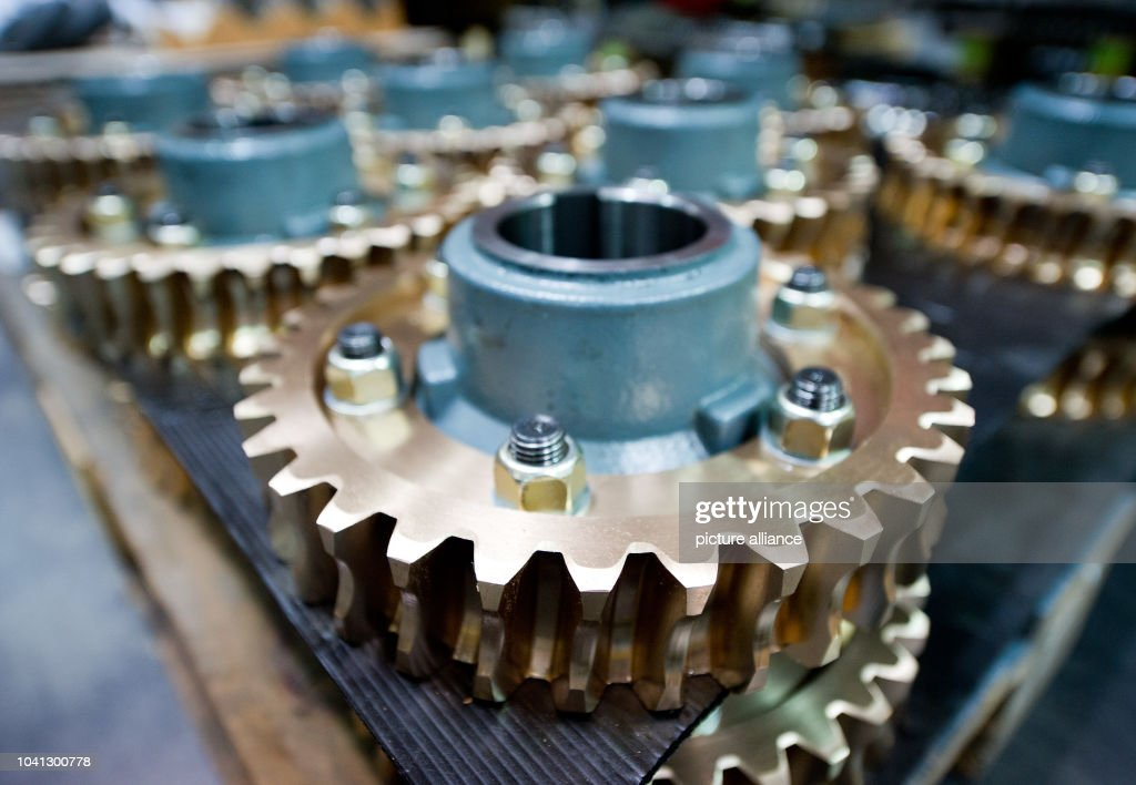Worm wheels, part of the motor, sit in the ThyssenKrupp