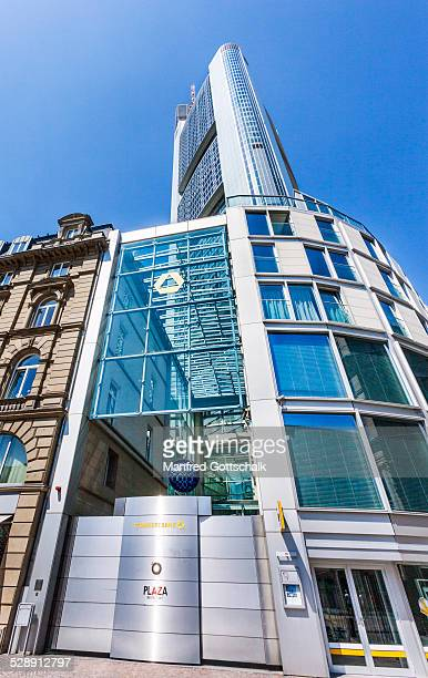 Worm's eye view of Commerzbank