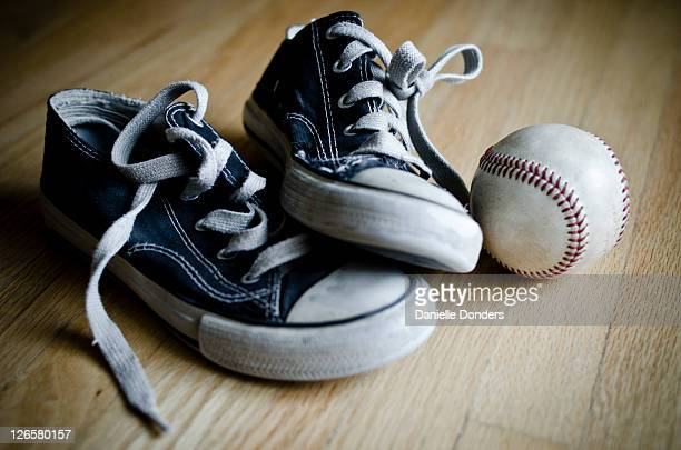 """worn black converse boys shoes - """"danielle donders"""" stock pictures, royalty-free photos & images"""