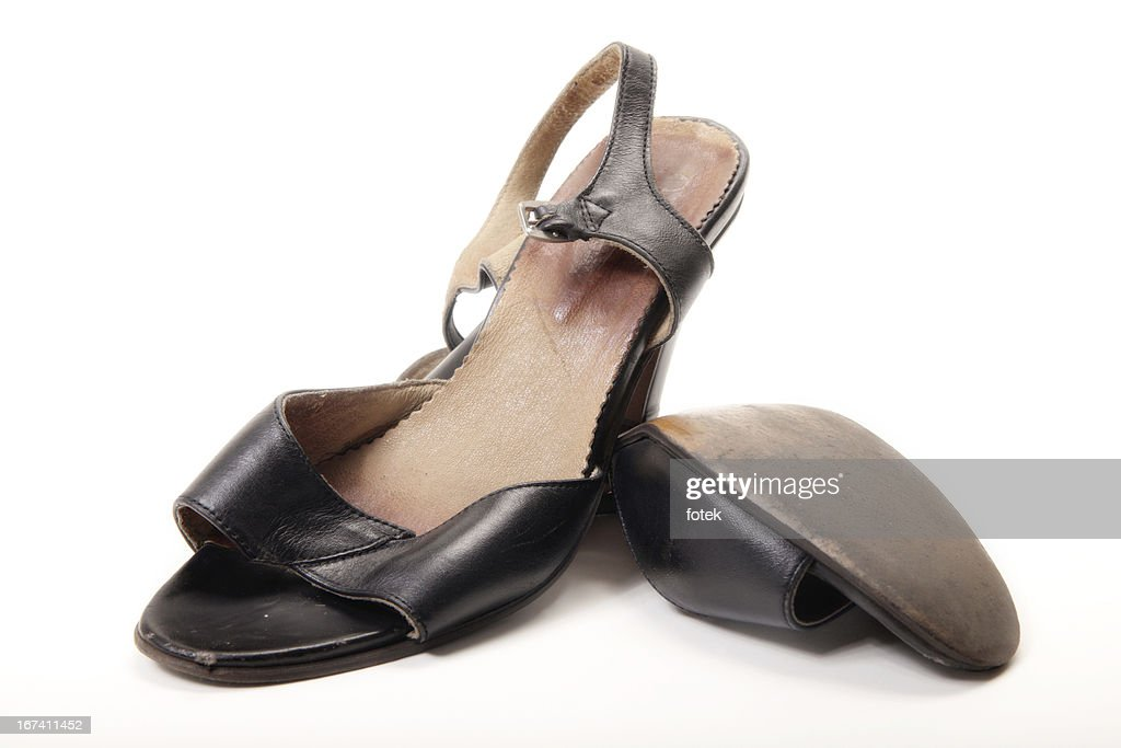 Worn shoes : Stock Photo