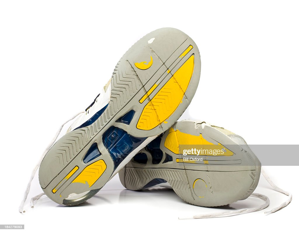 Worn Tennis Shoes : Stock Photo