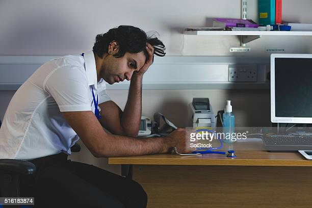 Worried Junior Doctor