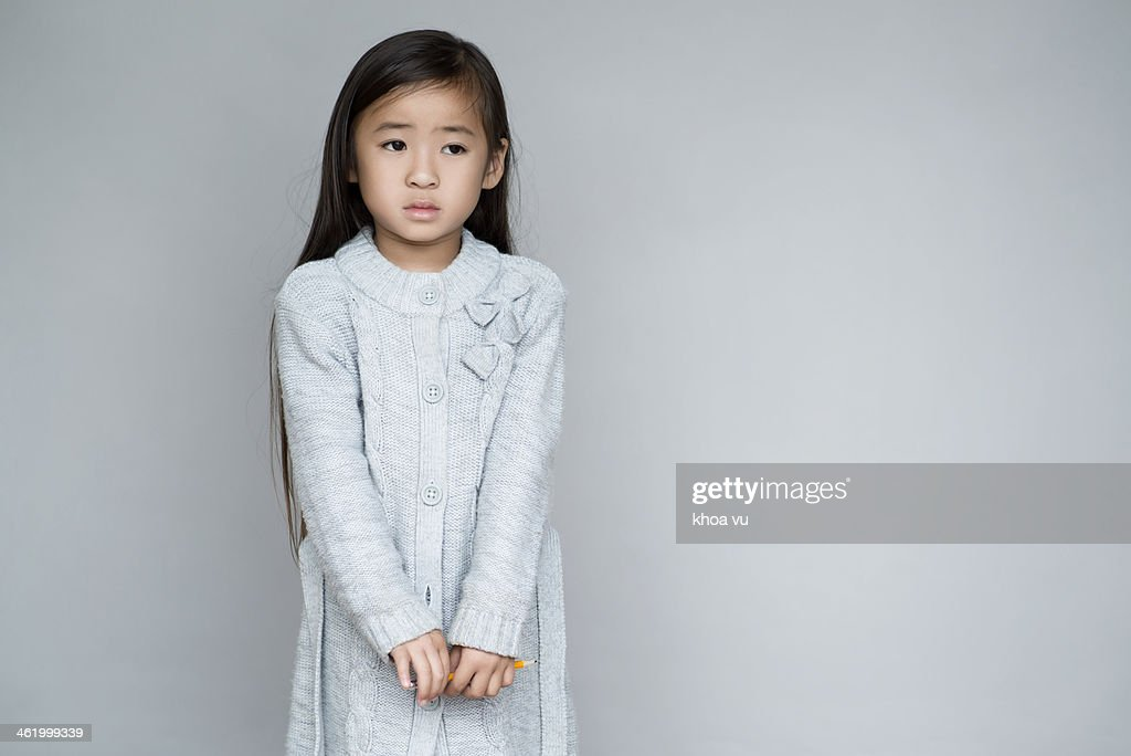 Worried look : Stock Photo