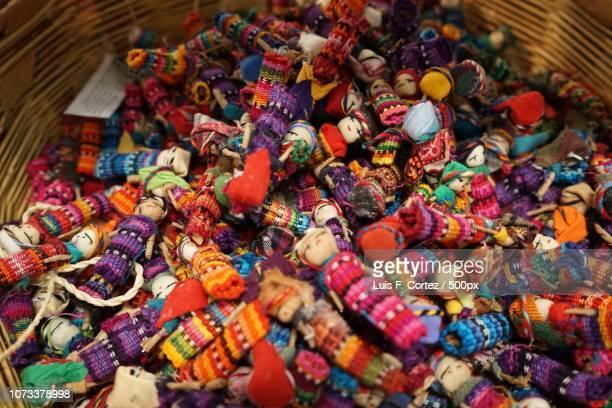 worry dolls - candy dolls fotografías e imágenes de stock