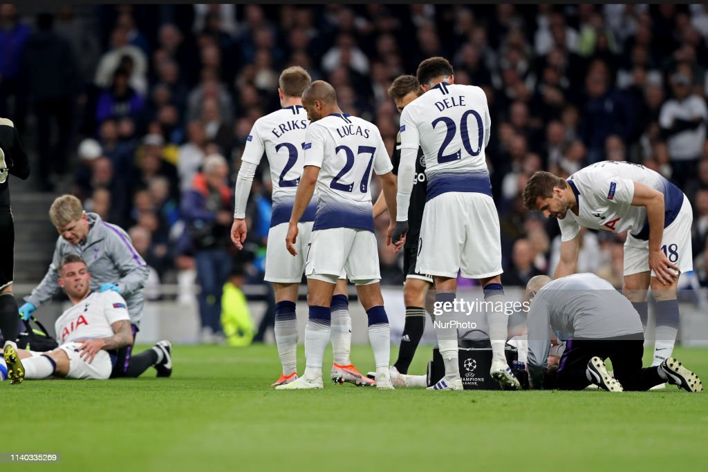 Tottenham Hotspur v Ajax - UEFA Champions League Semi Final: First Leg : News Photo