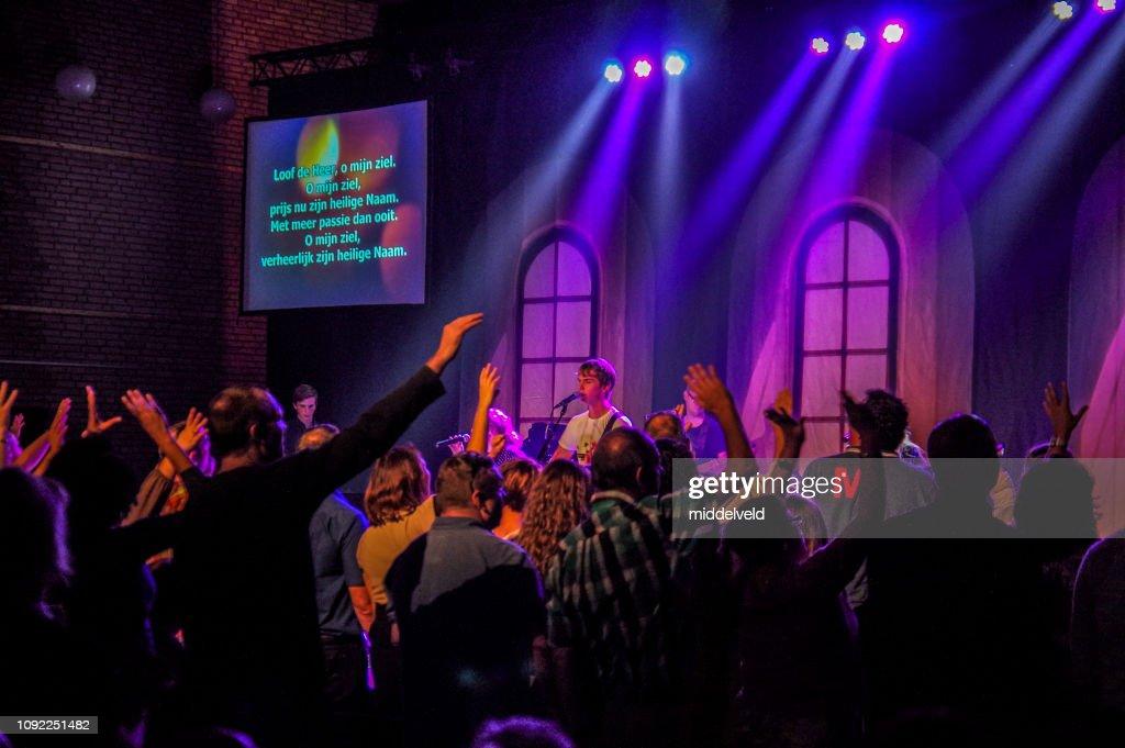 Worship and dance : Stock Photo