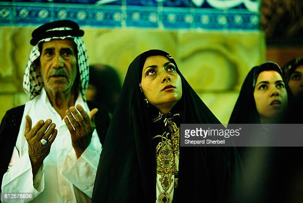 Worshipers at the Tomb of Ali