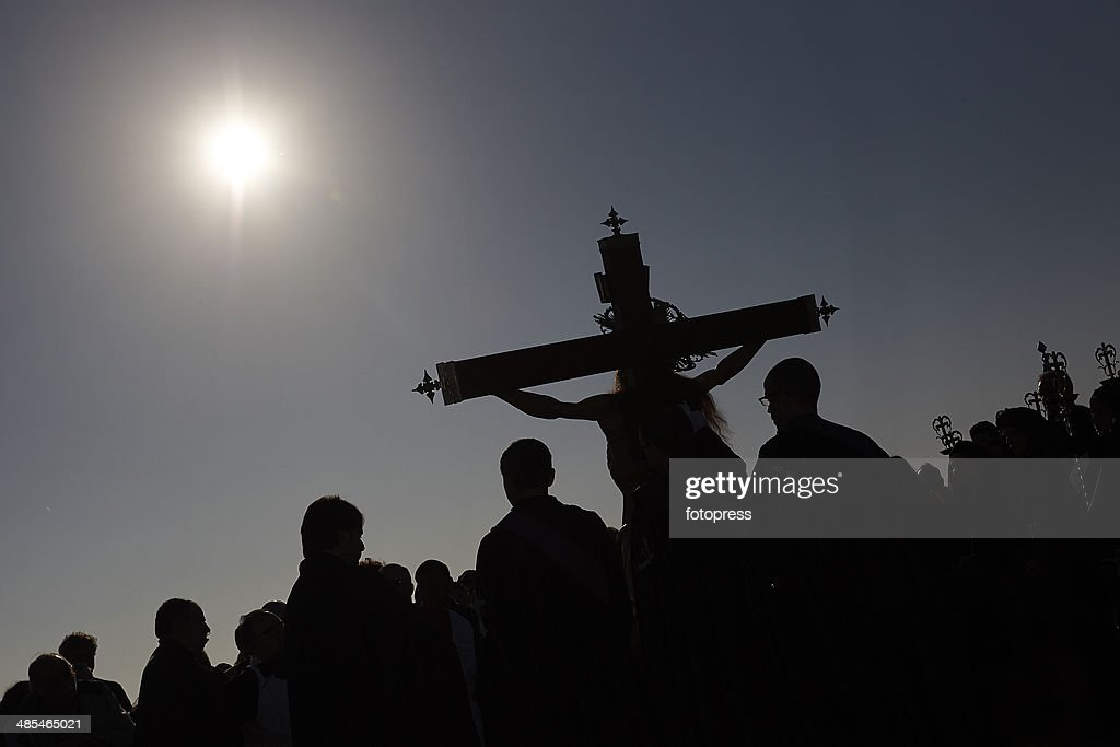 Holy Week Procession In Valencia : News Photo