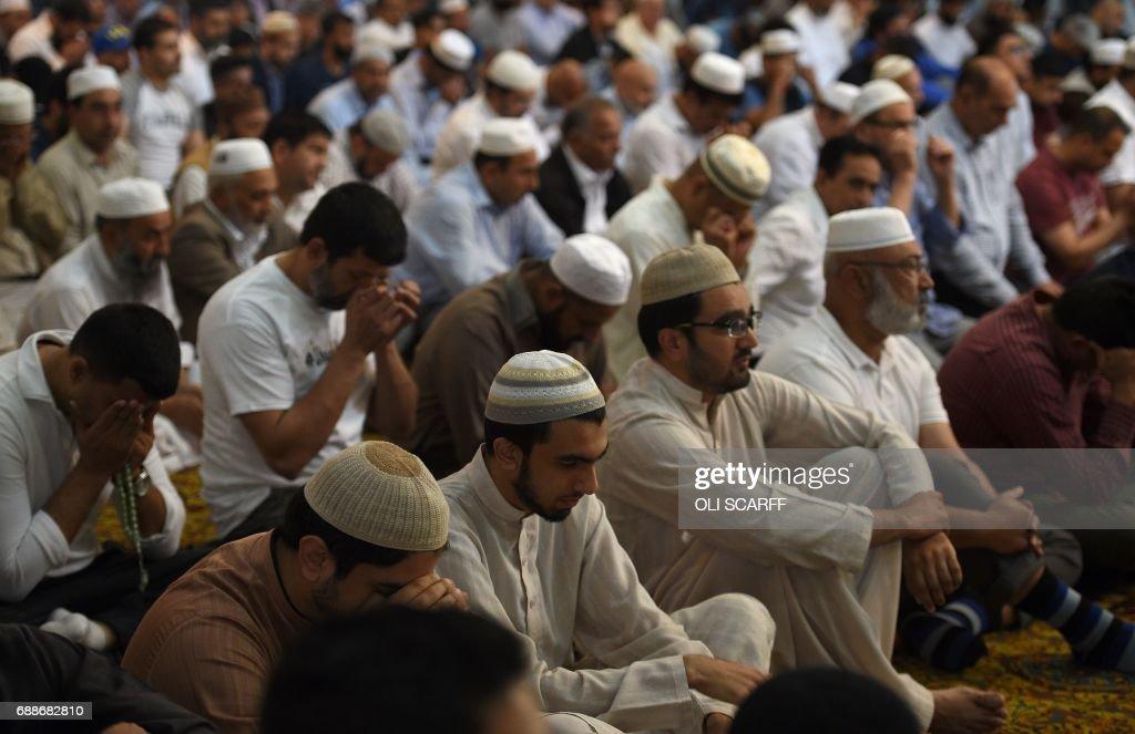 BRITAIN-ATTACK-RELIGION-POLICE : News Photo