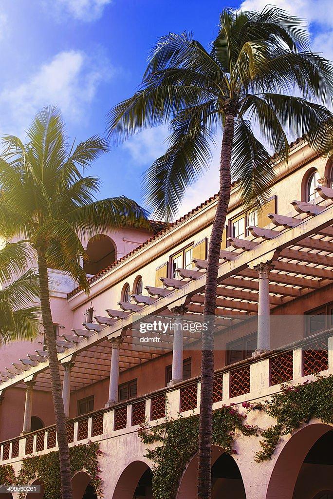 Worth Avenue Architecture : Stock Photo