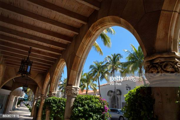 Worth Avenue in Palm Beach is one of the premier upscale shopping streets in the world Distinguishing Worth Avenue are smaller architecturally...