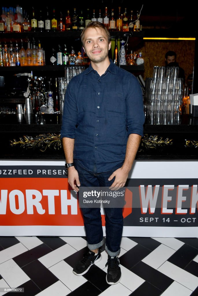'Worth It' cast member Andrew Ilnyckyj attends the 'Worth It' party presented by Buzzfeed at 1 Oak on September 13, 2017 in New York City.