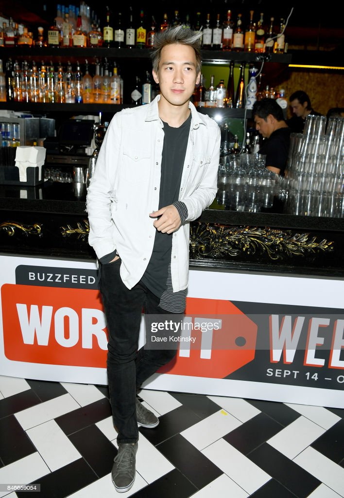 'Worth It' cast member Steven Lim attends the 'Worth It' party presented by Buzzfeed at 1 Oak on September 13, 2017 in New York City.