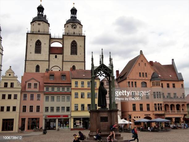 Worth seeing historic houses in wittenberg