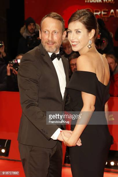 Wotan Wilke Moehring and Cosima Lohse attend the Opening Ceremony & 'Isle of Dogs' premiere during the 68th Berlinale International Film Festival...