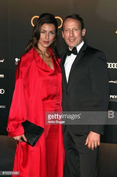 Wotan Wilke Moehring and his girlfriend Cosima Lohse attend the 24th Opera Gala at Deutsche Oper Berlin on November 4 2017 in Berlin Germany