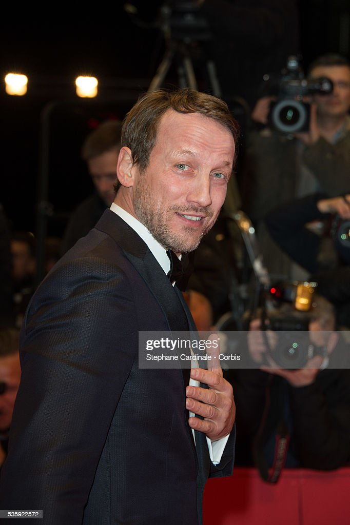 Wotan Wilke Moehring attends 'The Grand Budapest Hotel' Premiere and opening ceremony during the 64th Berlinale International Film Festival, in Berlin, Germany.