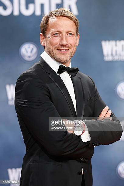 Wotan Wilke Moehring attends the premiere of the film 'Who am I' at Zoo Palast on September 23 2014 in Berlin Germany
