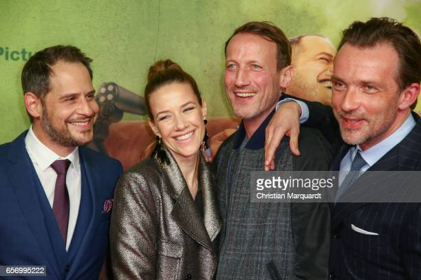 Wotan Wilke Moehring Moritz Bleibtreu Director Christian Zuebert Lucas Gregorowicz and Alexandra Neldel the main cast attend the premiere of the film...