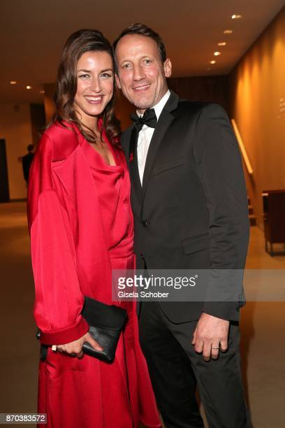 Wotan Wilke-Moehring and his girlfriend Cosima Lohse during the 24th Opera Gala benefit to Deutsche Aids-Stiftung at Deutsche Oper Berlin on November...