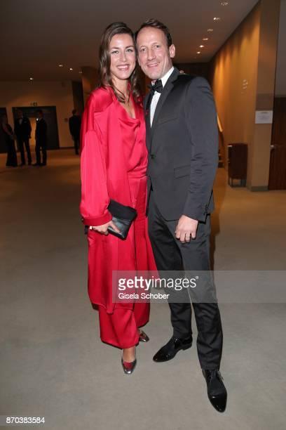 Wotan WilkeMoehring and his girlfriend Cosima Lohse during the 24th Opera Gala benefit to Deutsche AidsStiftung at Deutsche Oper Berlin on November 4...
