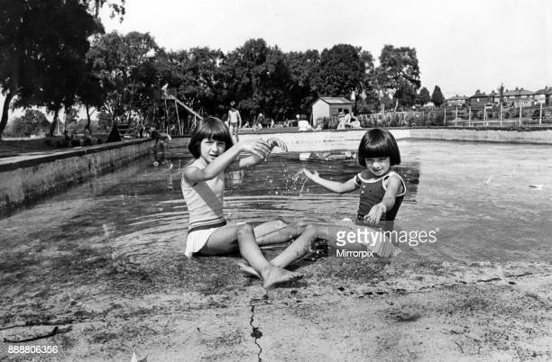 Wouldbe bathers Maureen aged 10 and sixyearold Kathleen Armstrong found themselves out of their depth when they arrived at Pleasurelad Park Upperby...