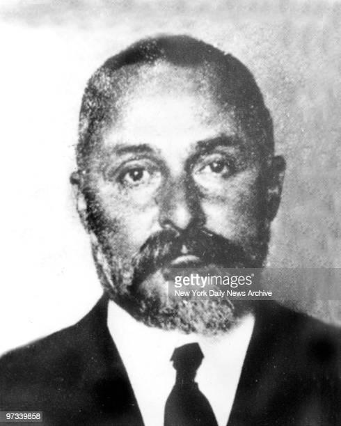 Wouldbe Mafia boss Vito Cascio Ferro who was driven from New York back to Sicily by Lt Joseph Petrosino in the early 1900's
