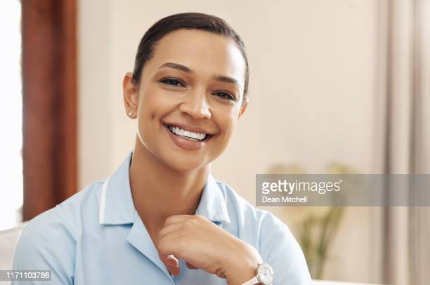 i wouldn't change my career choice for the world - nursing assistant stock pictures, royalty-free photos & images