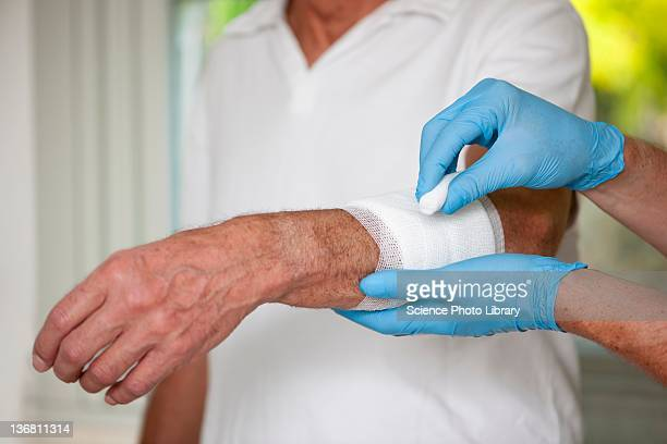 wound care - wounded stock photos and pictures