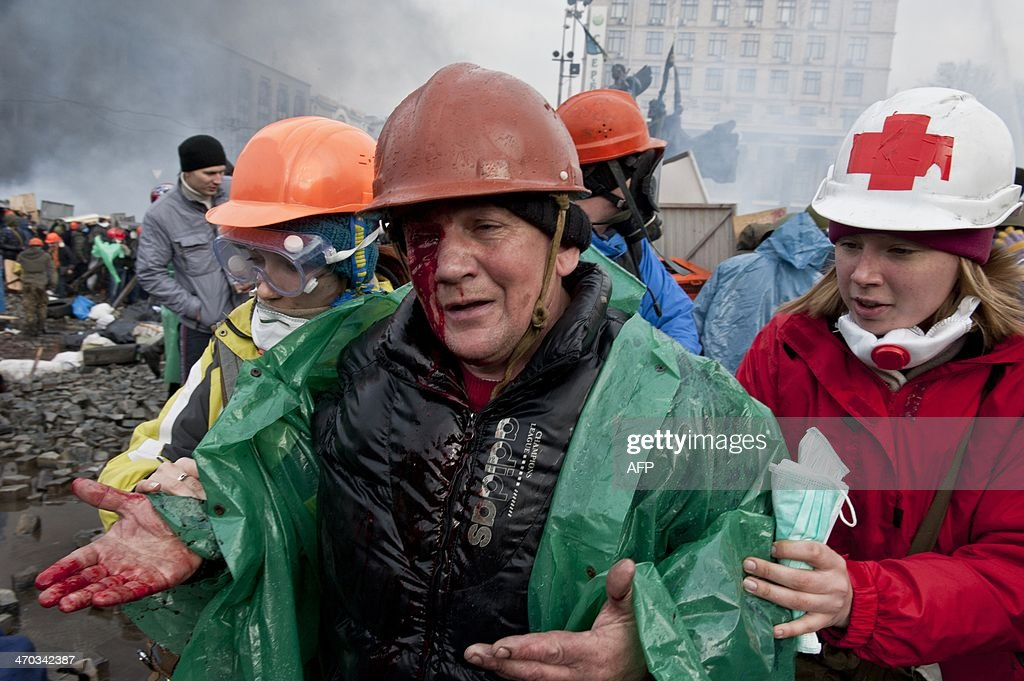 UKRAINE-UNREST-EU-RUSSIA-POLITICS : News Photo
