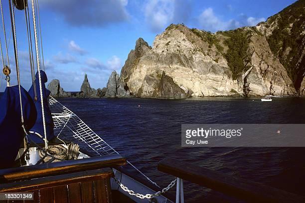 wounderful 湾 - オランダ領リーワード諸島 ストックフォトと画像