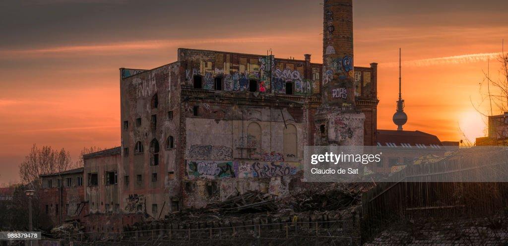 Wounding Berlin : Stock Photo