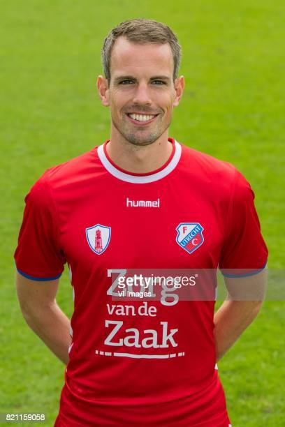 Wout Brama during the team presentation of FC Utrecht on July 22 2017 at Sportcomplex Zoudenbalch in Utrecht The Netherlands