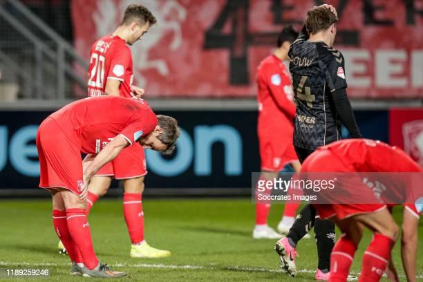 Wout Brama of FC Twente during the Dutch KNVB Beker match between Fc Twente v Go Ahead Eagles at the De Grolsch Veste on December 17, 2019 in...