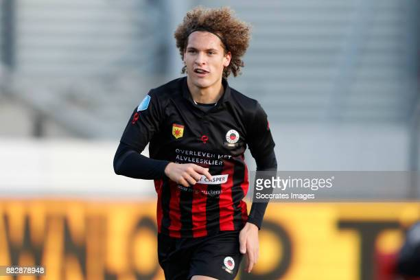 Wout Faes of Excelsior during the Dutch Eredivisie match between Excelsior v PSV at the Van Donge De Roo Stadium on November 26 2017 in Rotterdam...